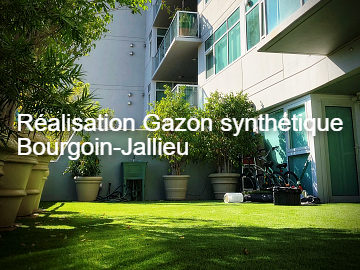 gazon synthétique bourgoin-jallieu