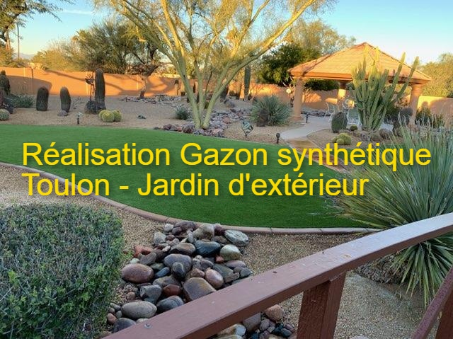 gazon synthétique toulon